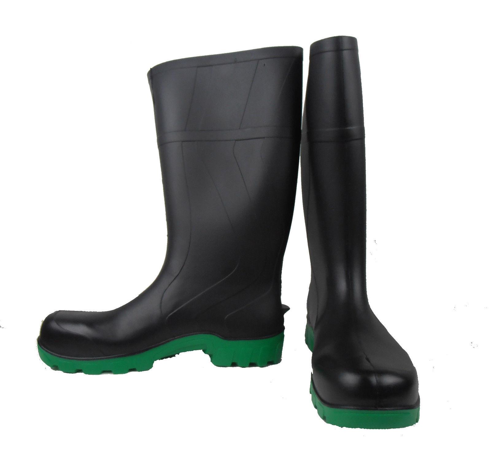 BLACK/GREEN KNEE BOOT