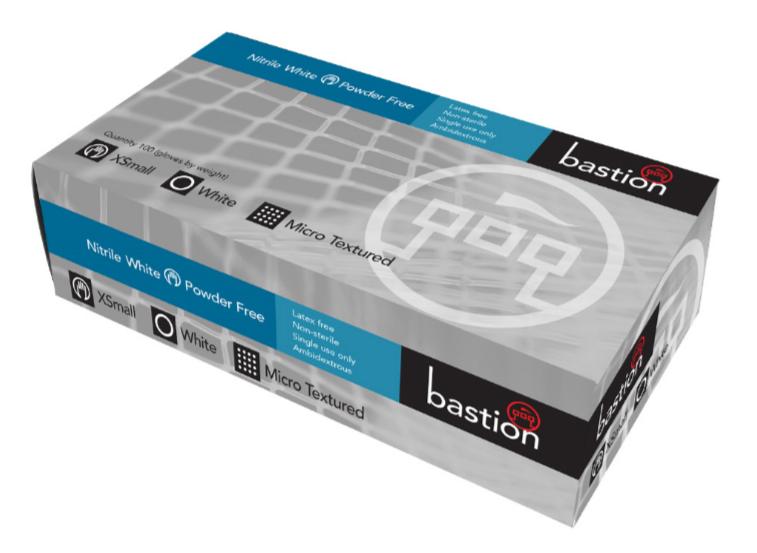 BASTION BLACK NITRILE P/F