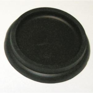 CASTOR CUP - RUBBER 40MM BLACK