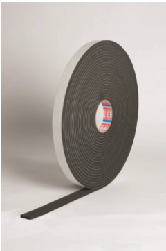 DURAFOAM PVC NITRILE FOAM TAPE 12MM X 4MM 10M ROLL