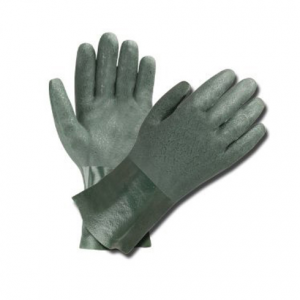 GREEN DOUBLE DIP PVC 300 GLOVE