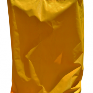 JANITOR CART YELLOW BAGS