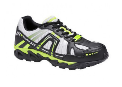 KING GEE COMPTECH SPORT SHOE LIME/BLK