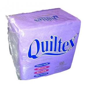 NAPKIN QUILTEX DEEP PURPLE #QD217PU