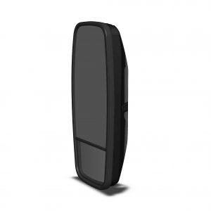 Mirror Head - Flat Glass w/- Convex Spotter