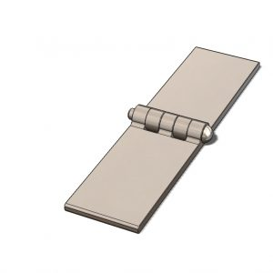 Back Flap Hinge - Type 1