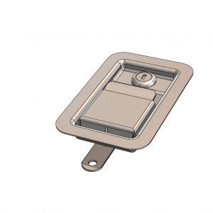 Anti Burst Lock - 3 Way - Key Locking