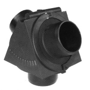 inchYinch Connector for Air Duct Pipe 50mm dia