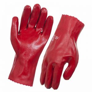 RED PVC SINGLE DIPPED