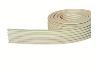 PVC TRAILER STRIP 45MM  CODE 141101-323-0050 - WHITE