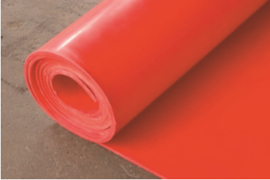 SILICONE RED RUBBER SHEET 1200 X 3MM