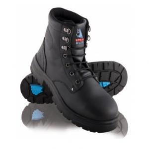 STEEL BLUE ARGYLE SAFETY BOOT BLACK