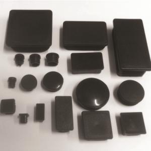 TUBE INSERT RECTANGULAR 1-1/2 X 1 BLACK