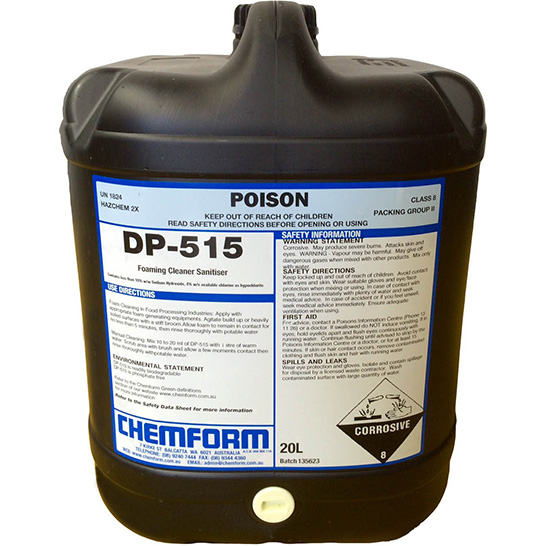 DP 515 Combined cleaner and sanitiser